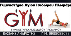 Γυμναστήριο Πλωμαρίου Αγίου Ισιδώρου, πολεμικές τέχνες.
